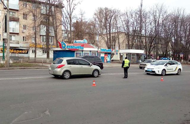 ДТП на вул. Європейській