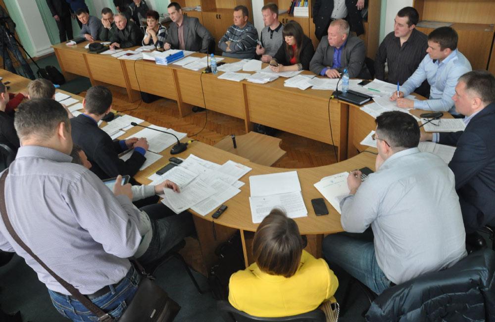 Засідання депутатської комісії Полтавської міськради з питань містобудування та архітектури