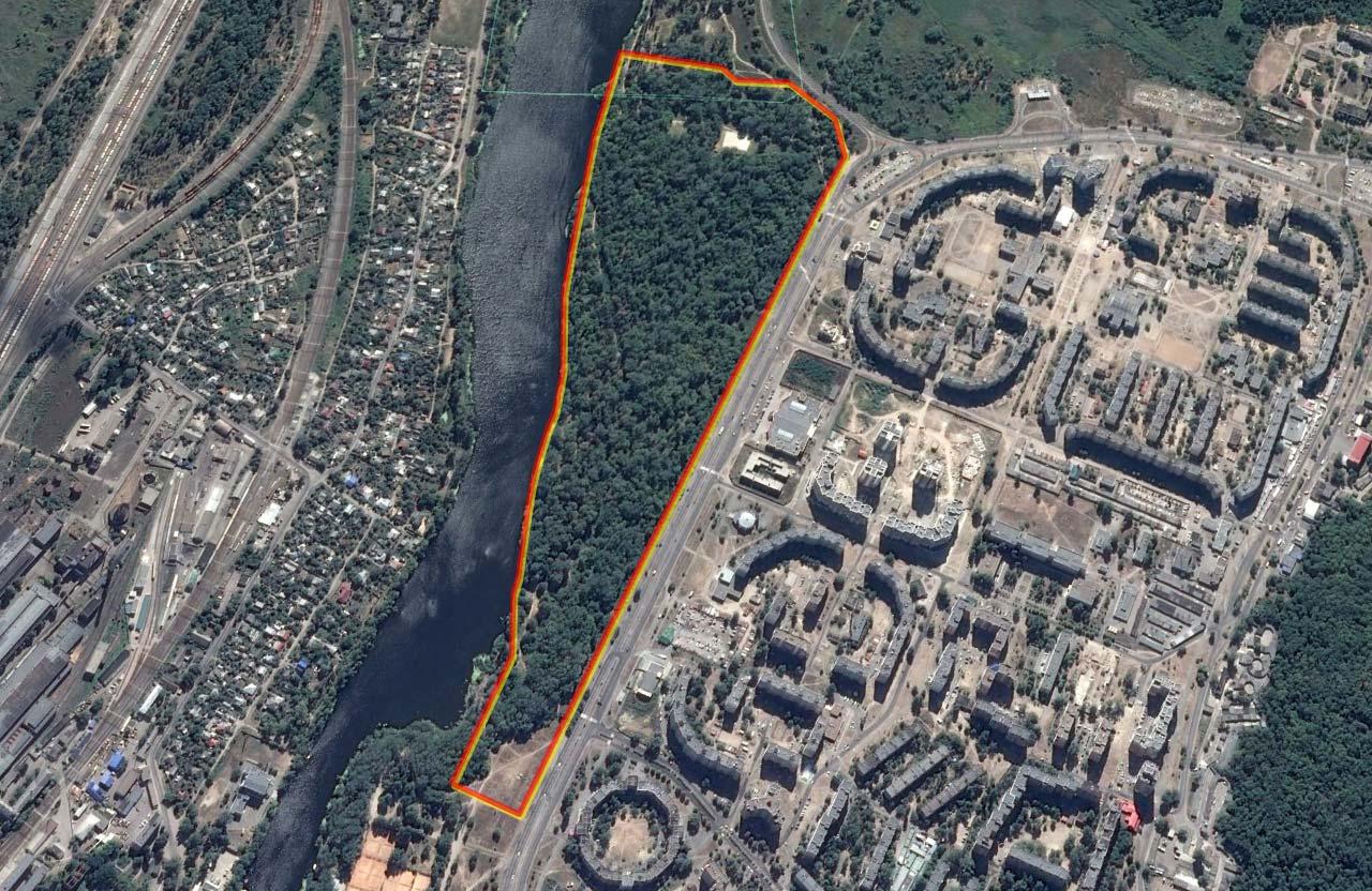 На території Прирічного парку може з'явитися Льодовий палац