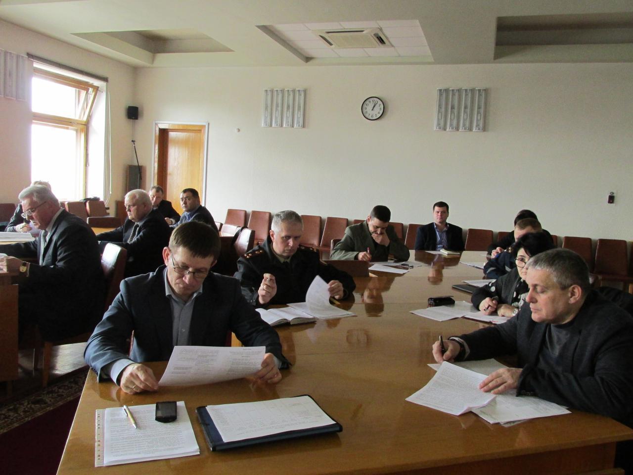 Засідання Державної надзвичайної протиепізоотичної комісії