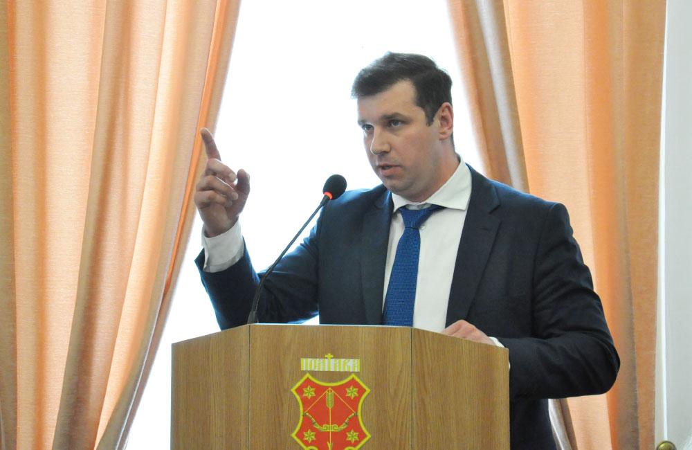 Олександр Шамота, голова фракції СДП в Полтавській міськраді
