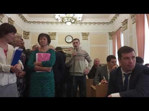 Виступ активіста Євгенія Мавлетбаєва на сесії міськради (2017.03.24, Полтава)