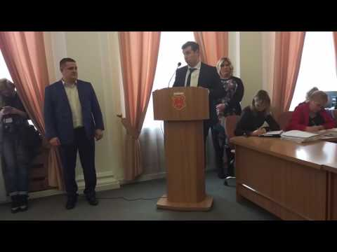 Обговорення кандидатури Андрія Ляміна на сесії (2017.03.22)