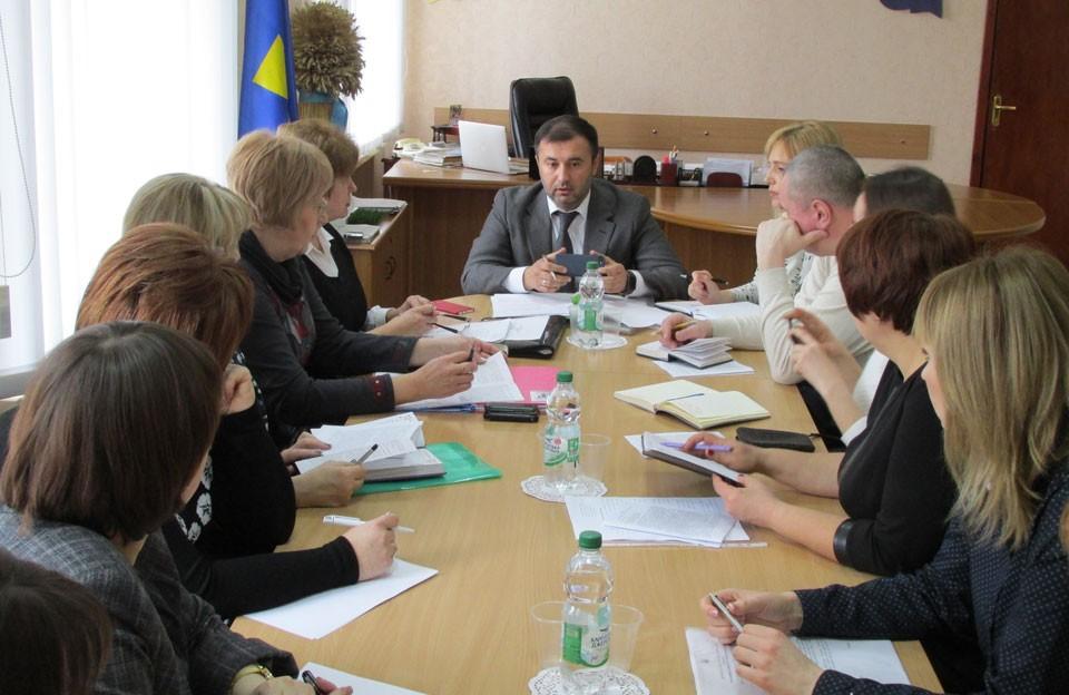 Засідання координаційна рада у справах дітей при Полтавській облдержадміністрації
