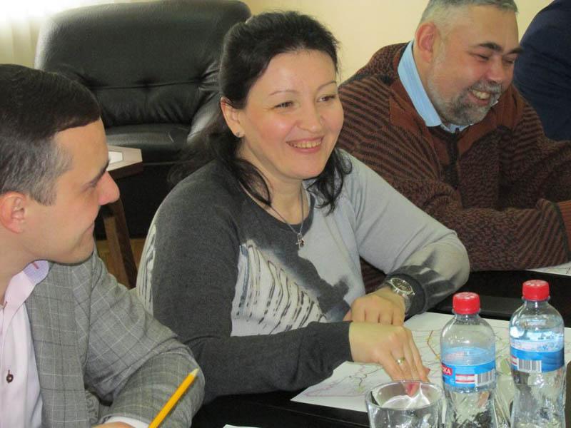 Депутат облради Марина Рябокінь