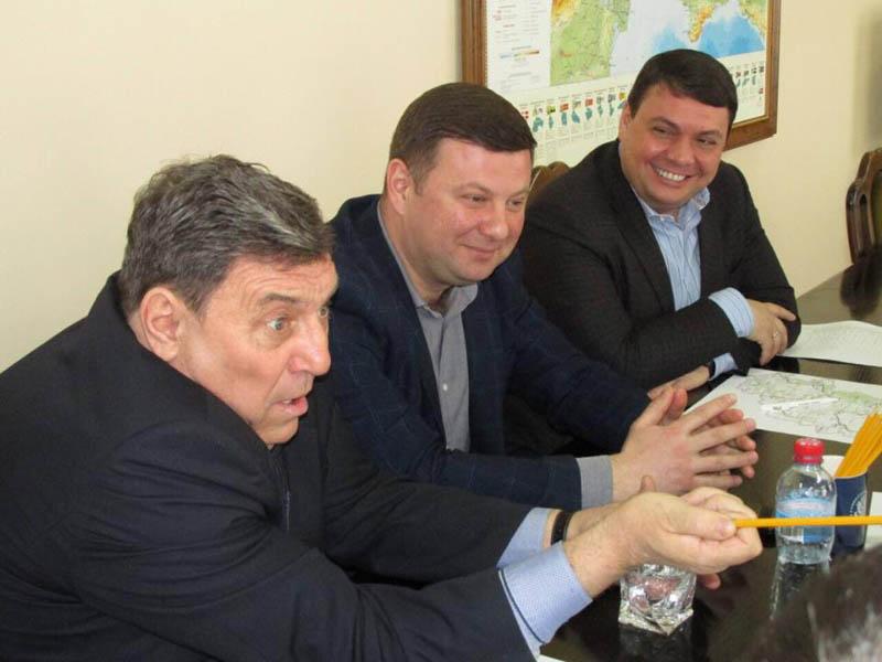 Зустріч з представниками Шишацького району