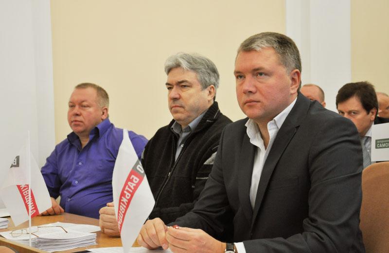 Дмитро Петров, Анатолій Клименко та Олег Бєлоножко