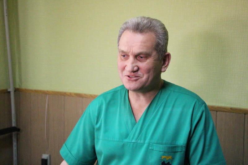 Завідуючий гінекологічним відділенням 5-ї міської клінічної лікарні Юрій Сапегін