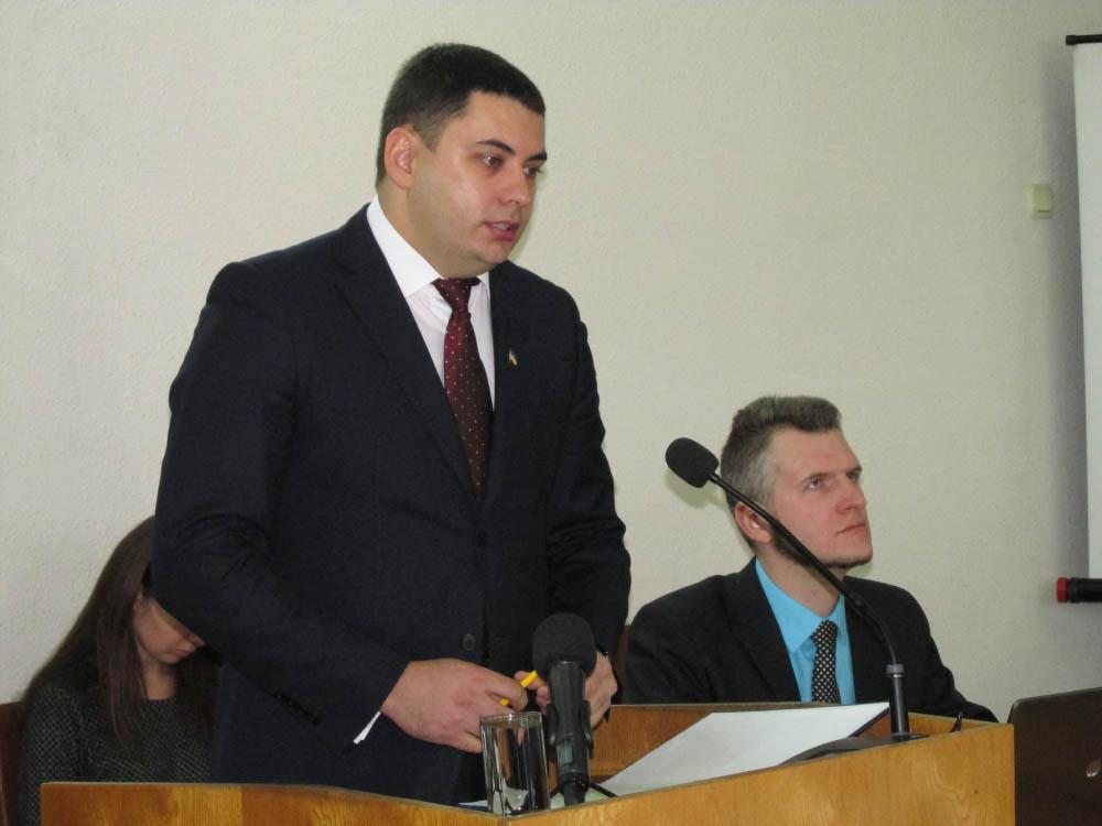 Начальник ГУ Держгеокадастру в Полтавській області Вадим Чувпило