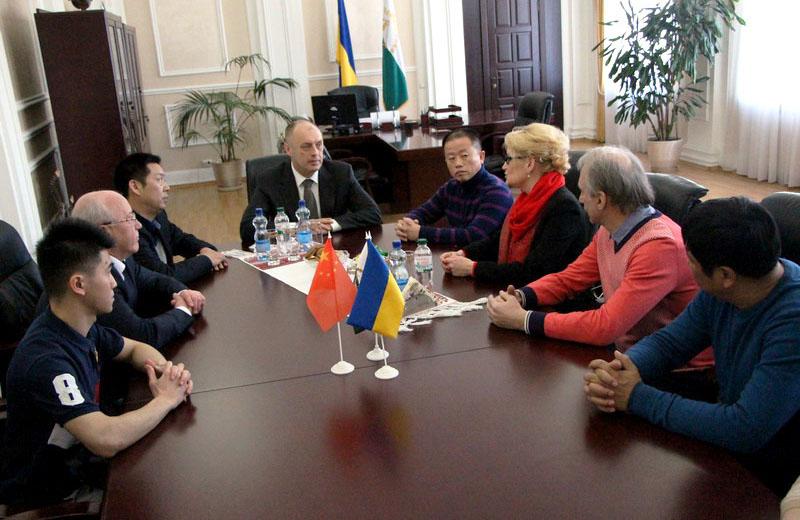 Під час зустрічі очільника Полтави Олександра Мамая із делегацією з Китайської Народної Республіки
