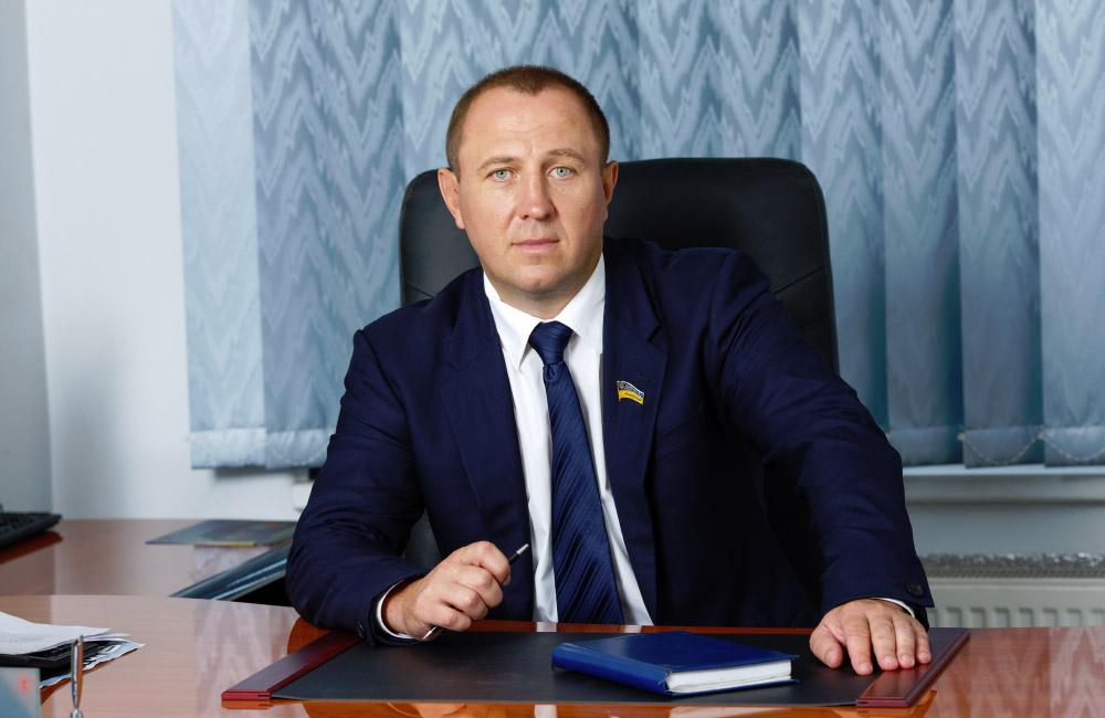 Олег Сазонов, председатель фракции Оппозиционный блок в Полтавском облсовете