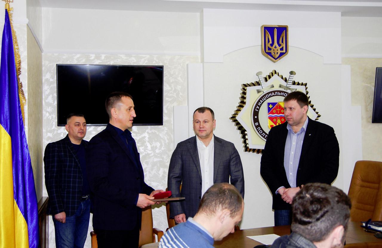 Євген Мартиненко отримав Почесну грамоту та відзнаку