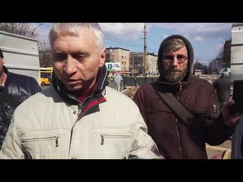 Інспектор ДАБІ розповідає про незаконне будівництво на вул. Івана Мазепи, 45 та 45/4 (2017.03.30)