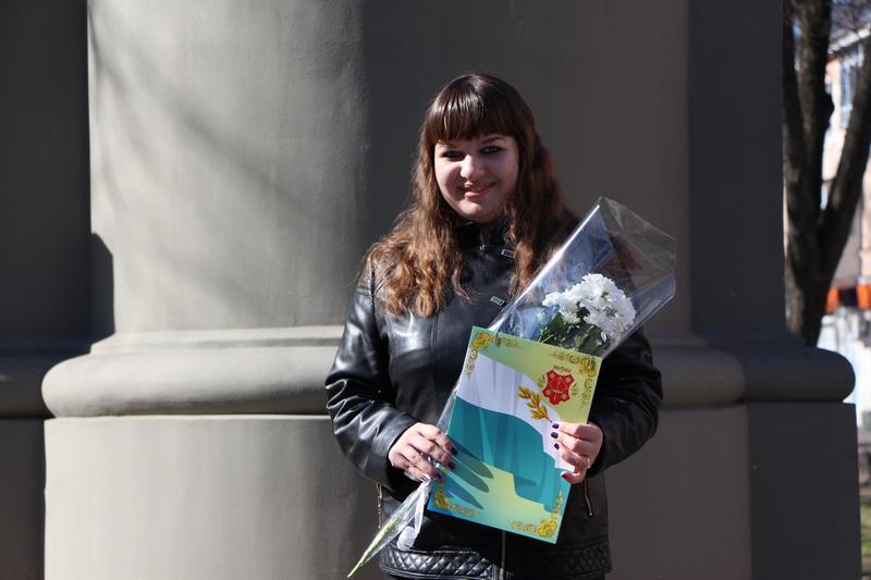 Лауреат І премії у старшій віковій категорії Олена Коновалова