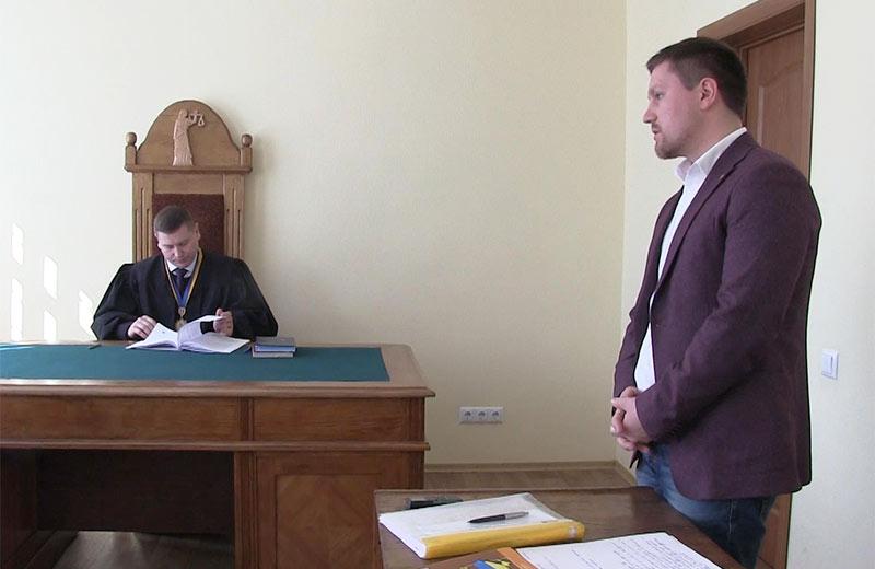 Суддя Віталій Микитенко та адвокат Григорій Фелоненко
