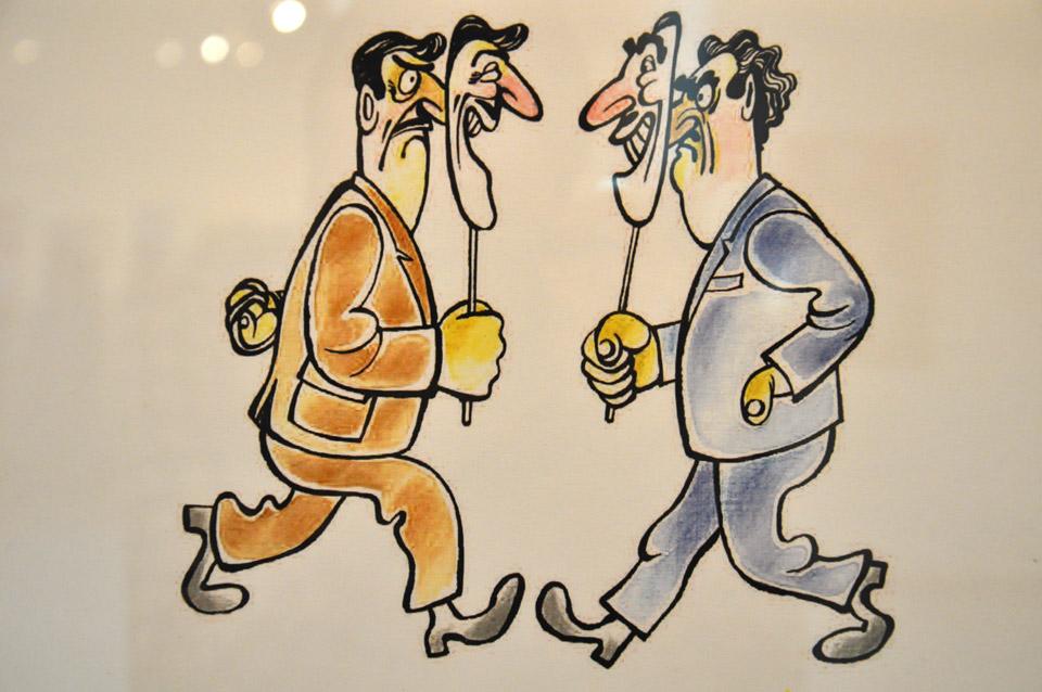 Робота автора з асоціації карикатуристів Азербайджану.