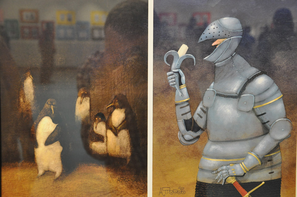 Робота карикатуриста Андрія Попова.
