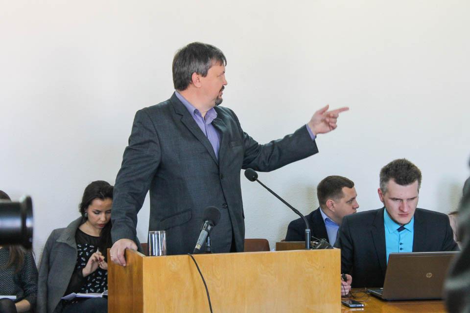 Начальник Управління ЖКГ Полтавської ОДА Едуард Рева