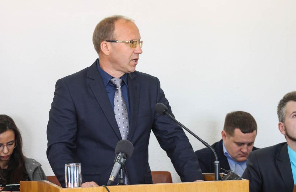В. о. генерального директора Полтаватеплоенерго Володимир Пасічко