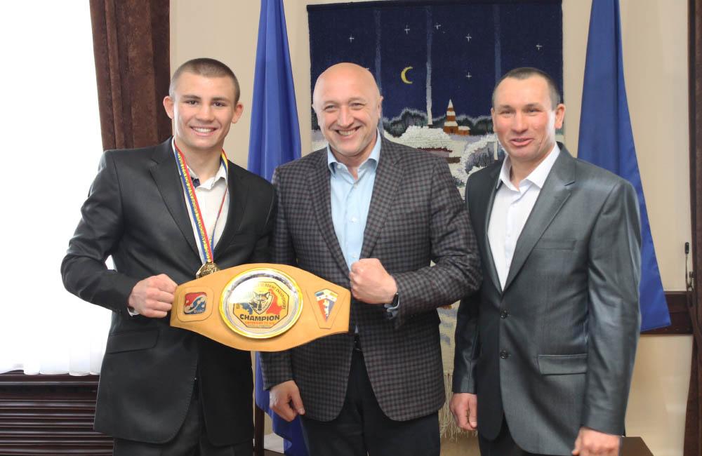 Валерій Головко побажав спортсмену подальших перемог