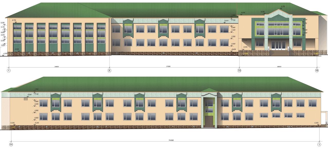 Проект реконструкції гімназії