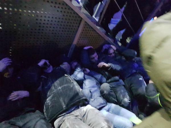 Титушек задержали в Киеве