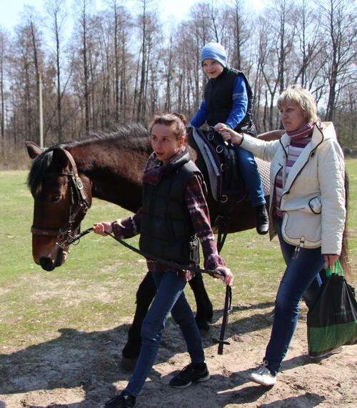 Сніжана Запсєльська з сином Богданом