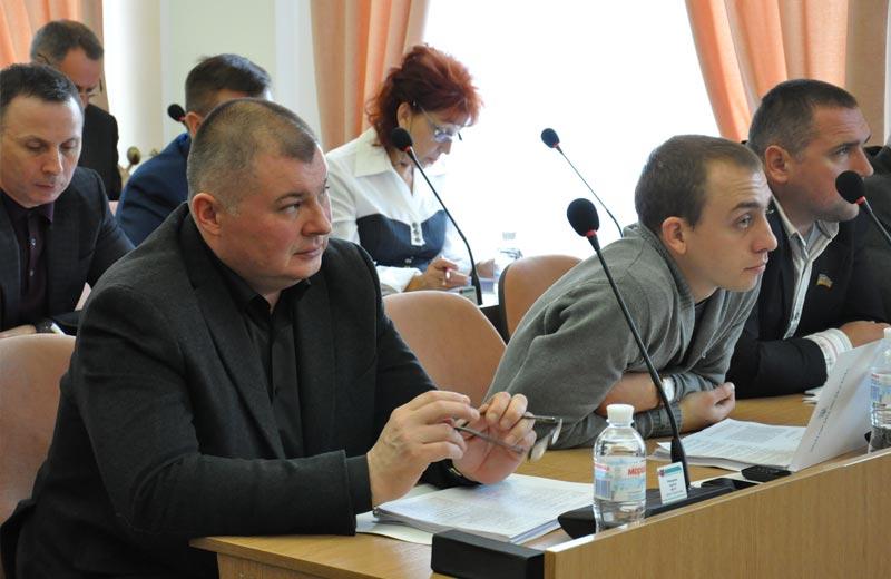 Депутати фракції БПП «Солідарність» у Полтавській міській раді