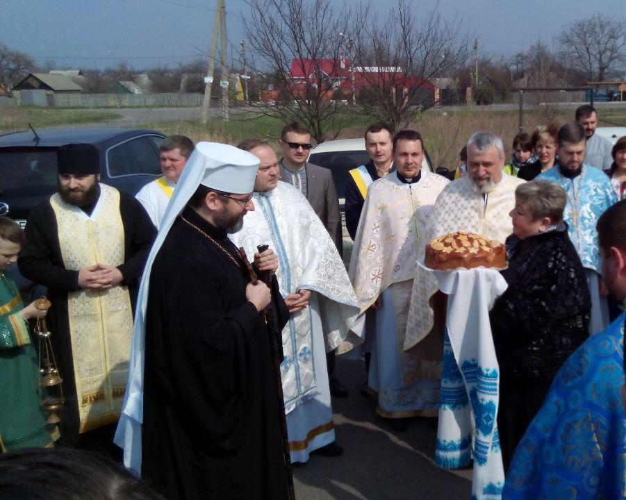 Патріарха вітають у Полтаві