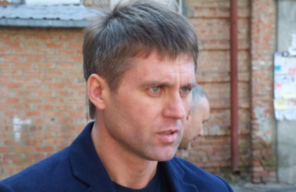 Сергей Горбатюк, руководитель кременчугской фирмы «Скорпион-2016»