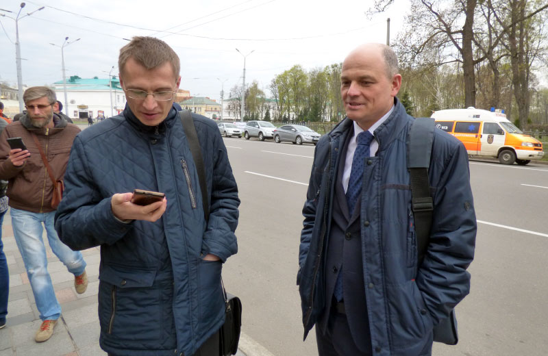 Сергій Альошкін та Віталій Нікіпелов