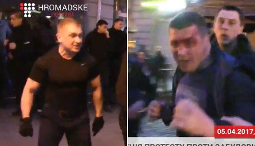 Евгений Усенко и Анатолий Прядко
