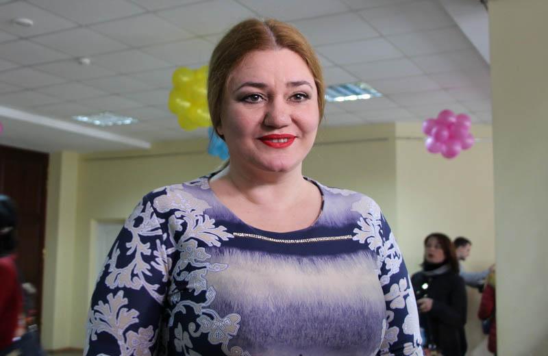 Заслужена артистка України Наталія Май