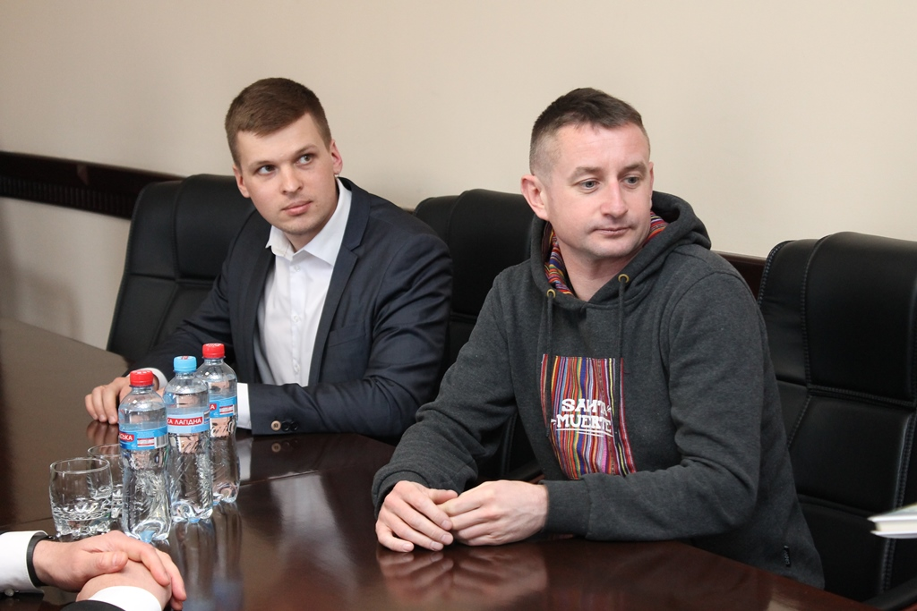 Олександр Ткаченко (Magnum Opus) та Сергій Жадан
