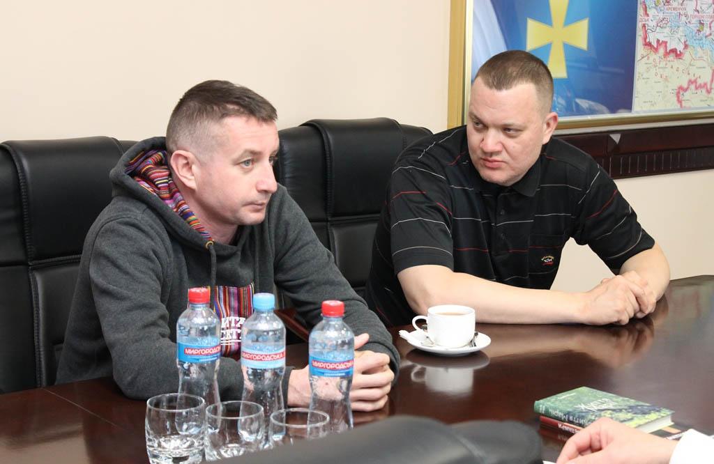 Сергій Жадан та Святослав Померанцев