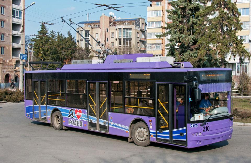 Тролейбус Богдан Т70117