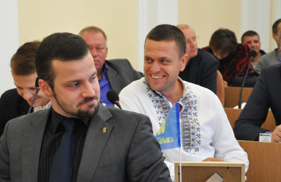 Артем Чубенко, Юліан Матвійчук та Сергій Литвиненко