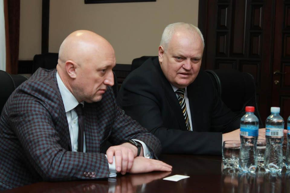 Валерій Головко та Віктор Лисак