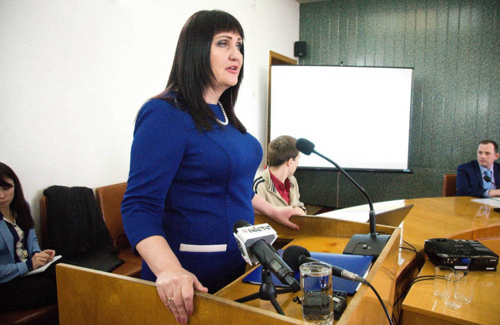 Директор Департаменту освіти й науки Полтавської ОДА Олена Харченко