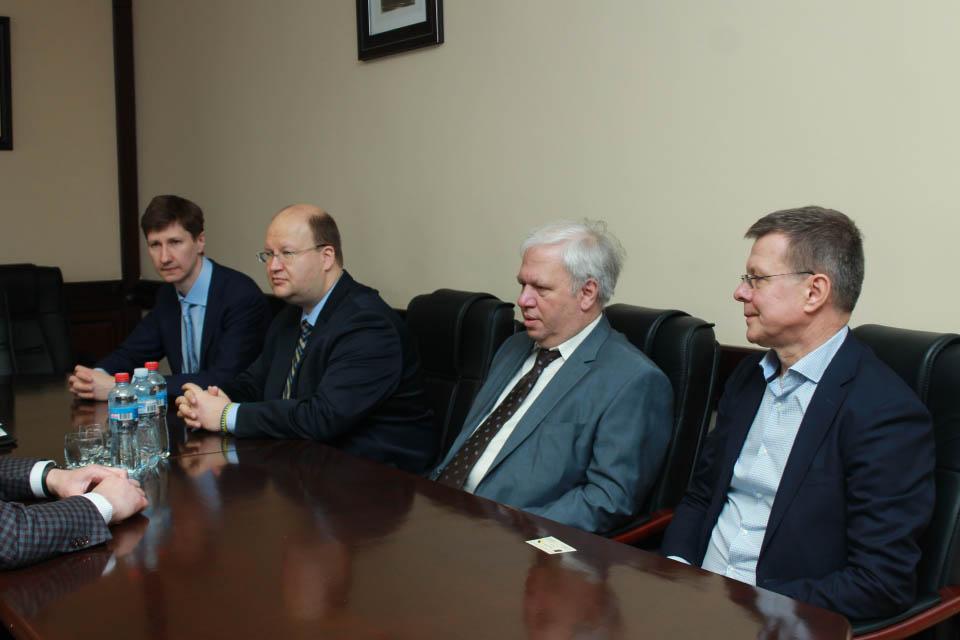 Делегація литовських фахівців