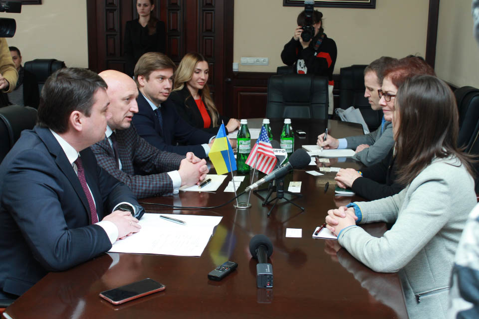 Зустріч керівництва області та посла США