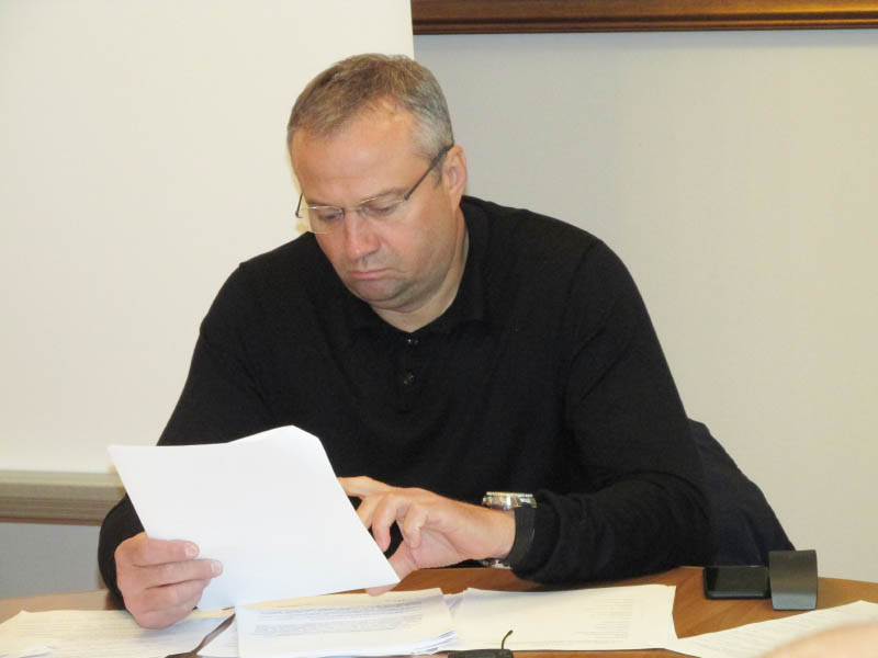 Голова комісії Ігор Сірик
