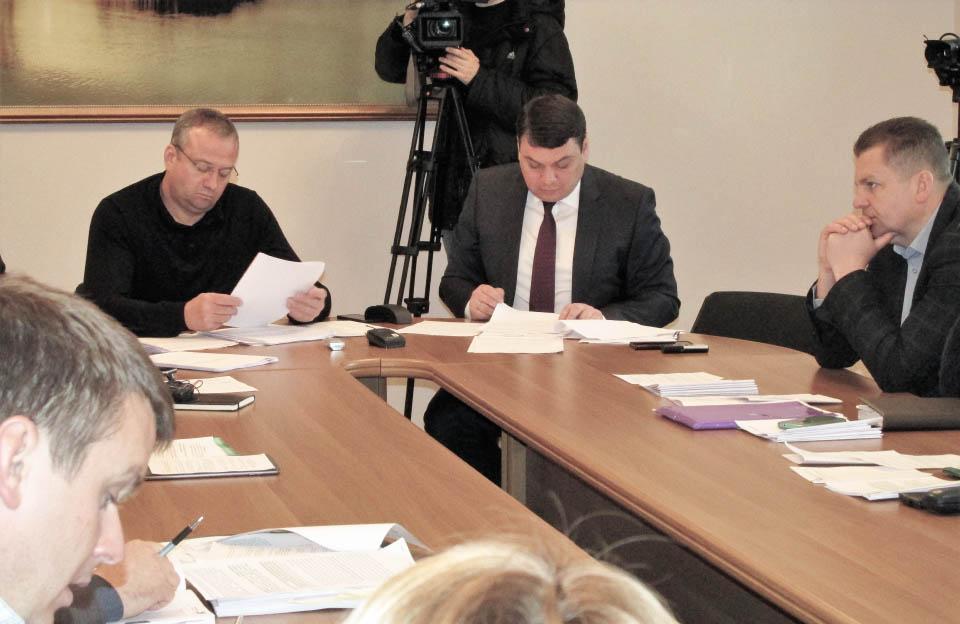 Засідання комісії обласної ради з питань ЖКГ