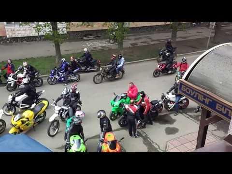 Полтава - открытие мотосезона 2017