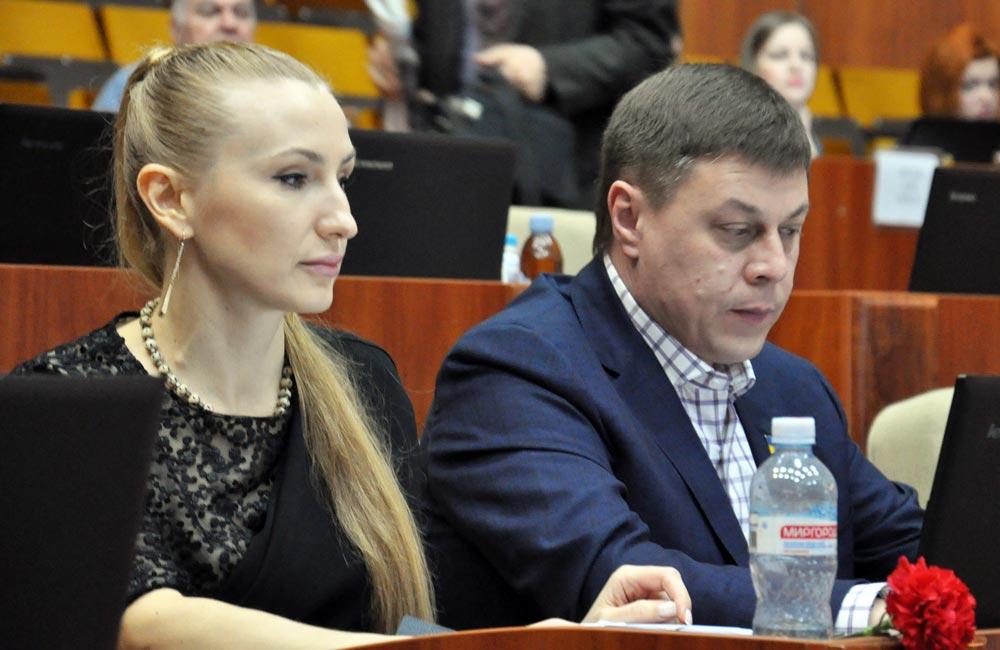 Ірина Степаненко та Юрій Тимоха