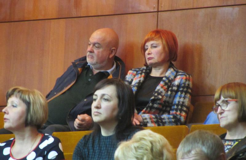 Тетяна Жабо на сесії Полтавської облради