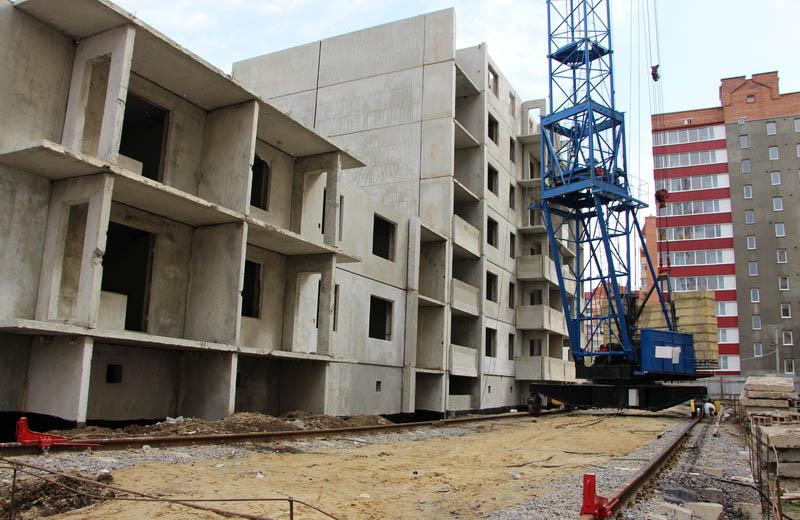 Будівництво багатоповерхівки на вулиці Марії Башкирцевої, 31а