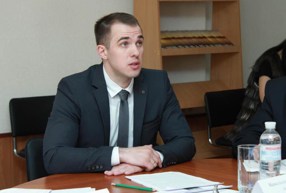 Начальник Державної екологічної інспекції у Полтавській області Вадим Осипенко