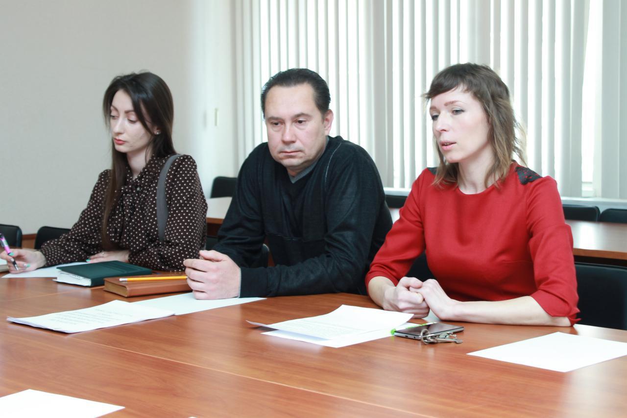 Завідувач юридичного сектору — юристконсульт Людмила Хоміч доповідає про роботу за 1 квартал 2017 року
