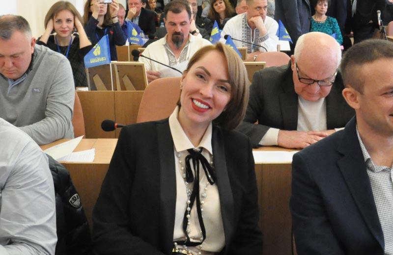 Депутат Полтавської міської ради Ірина Климко